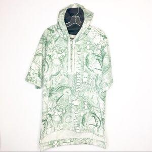 Money Sweatshirt Pullover Hoodie Dollar Bills LRG